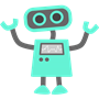 cute robot avatar