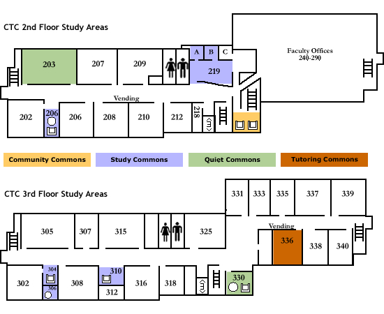 ctc study areas